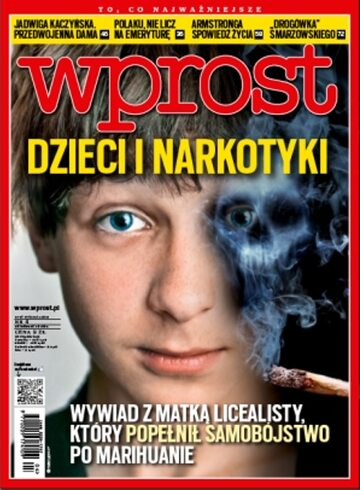 Okładka tygodnika Wprost nr 4/2013 (1561)