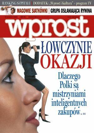 Okładka tygodnika Wprost nr 49/2006 (1251)