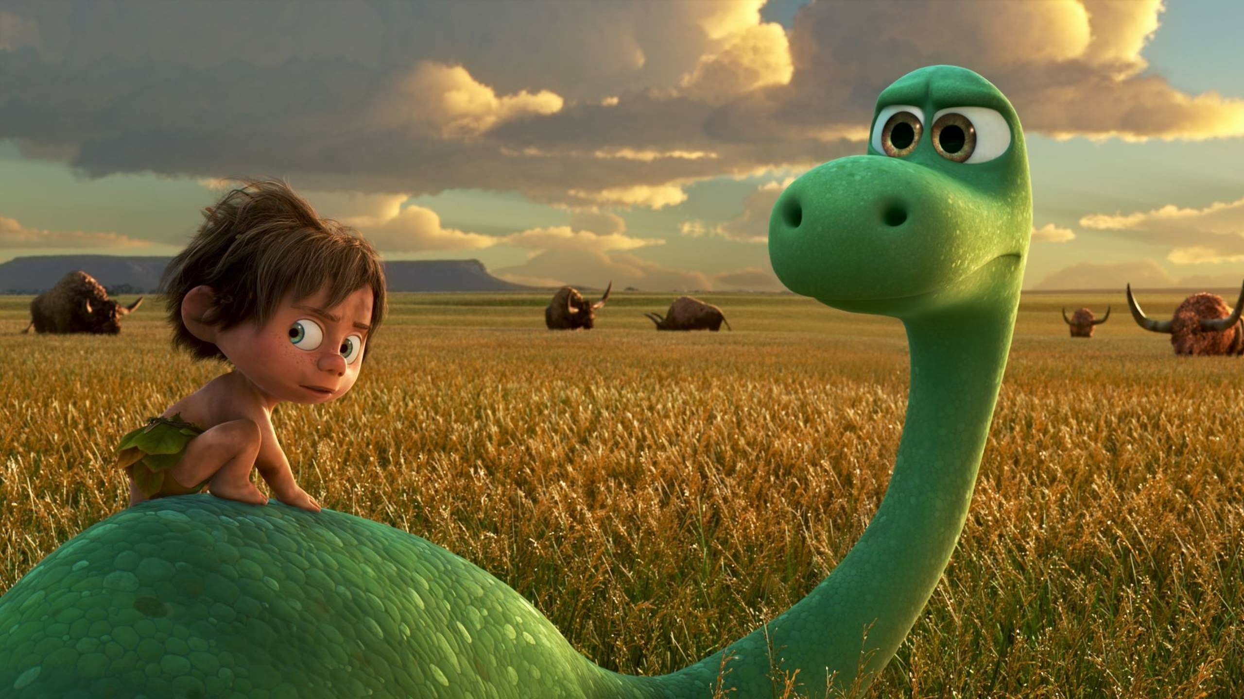 "Kadr z filmu ""Dobry dinozaur"" / ""The Good Dinosaur"" (2015)"