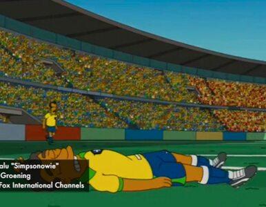 """Twórcy """"Simpsonów"""" przewidzieli... kontuzję Neymara"""