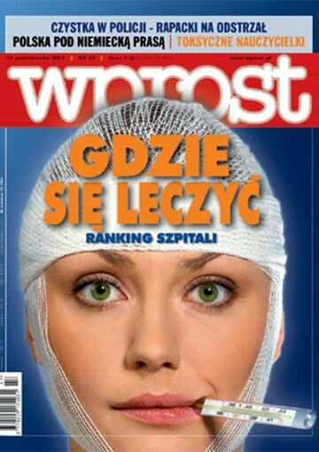 Okładka tygodnika Wprost nr 43/2003 (1091)