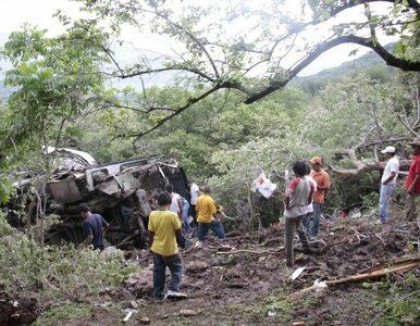 Meksyk: autobus runął w przepaść - dziesiątki zabitych