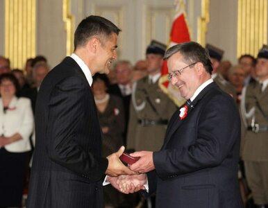 Wojciech Kilar, Tomasz Sikora, Krzysztof Hołowczyc - Komorowski odznacza