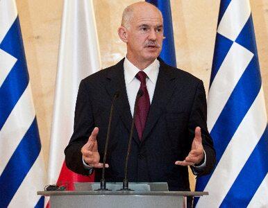 Papandreu: nie będę dłużej premierem