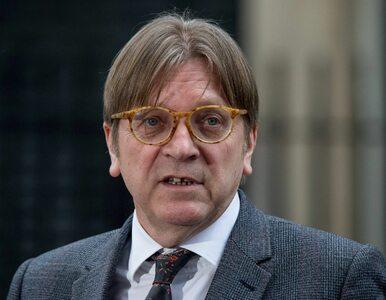 Warszawski sąd wnioskuje o uchylenie immunitetu Guyowi Verhofstadtowi