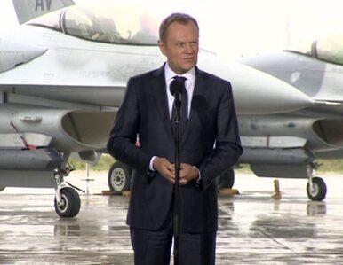 Tusk do pilotów z USA: Dziękuję za waszą obecność