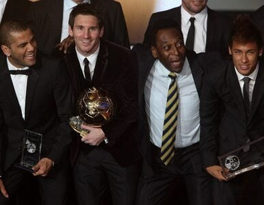 Pele: Neymar jest pięć lat za Messim