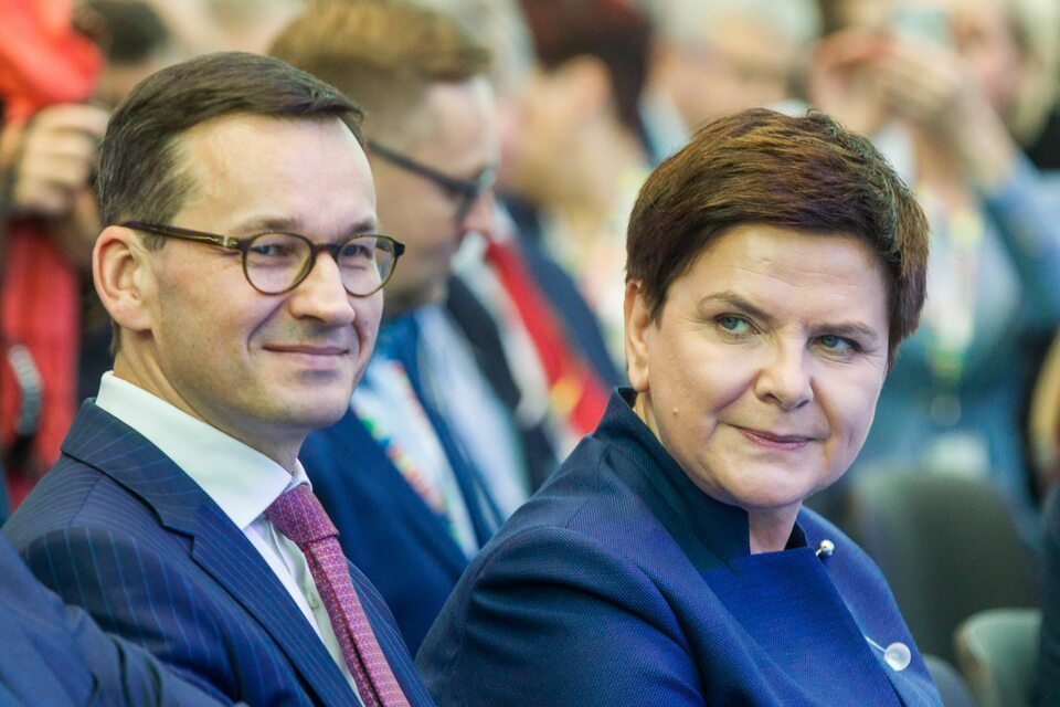Mateusz Morawiecki i Beata Szydło