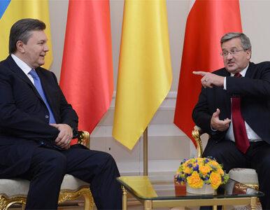 """Komorowski i Janukowycz rozmawiają. O czym? """"Przede wszystkim to święto..."""