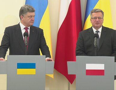 Prezydent Komorowski ratyfikował umowę stowarzyszeniową UE-Ukraina