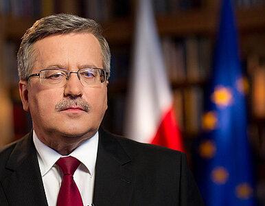Komorowski: zwołam Sejm tak późno jak to możliwe