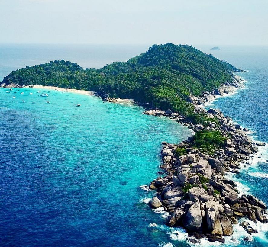 Wyspy Similany w Tajlandii