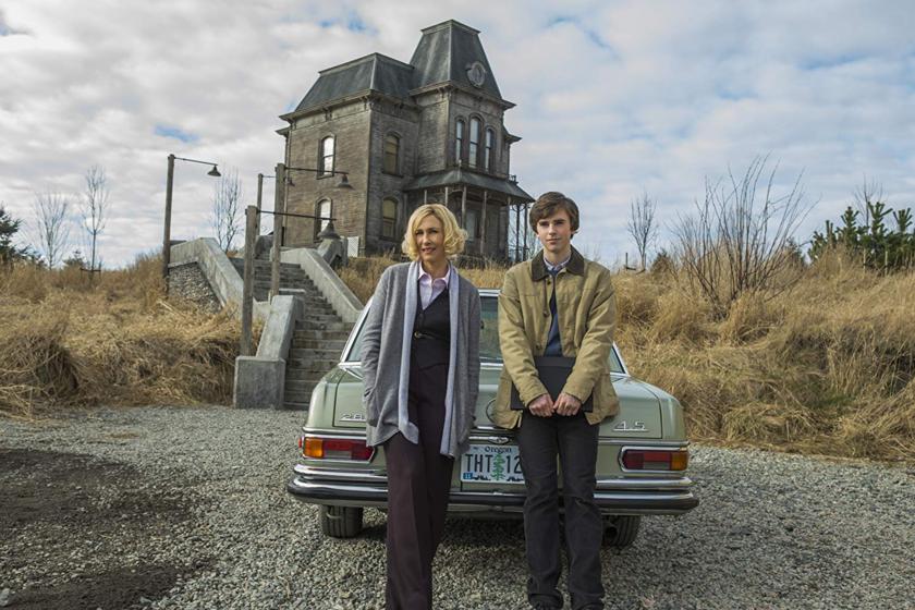 "Kadr z serialu ""Bates Motel"""