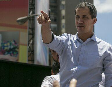 """Niespokojnie w Wenezueli. Guaido mówi o """"końcu ery Maduro"""""""