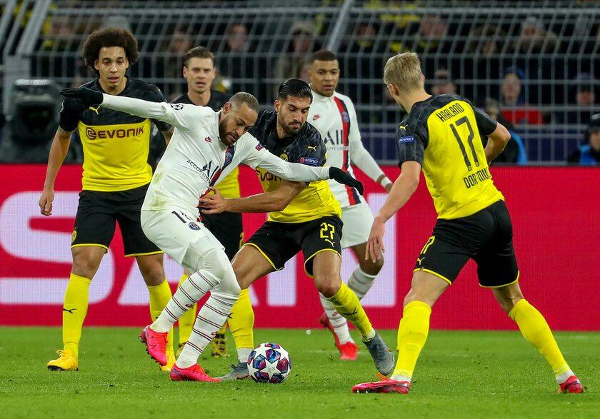 Pierwszy mecz PSG z Borussią Dortmund