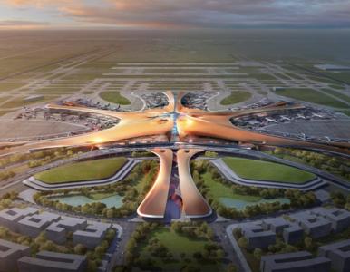 """Takiego lotniska jeszcze nie widzieliście. """"Druga globalna brama"""""""