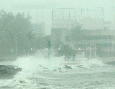 Tropikalny sztorm nad Meksykiem - trzy osoby nie żyją