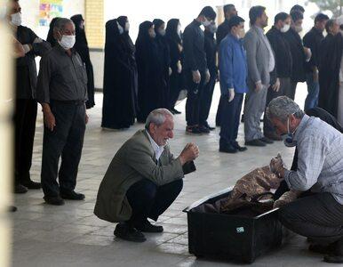 Co 10 minut w Iranie ktoś umiera z powodu koronawirusa. Rzecznik...