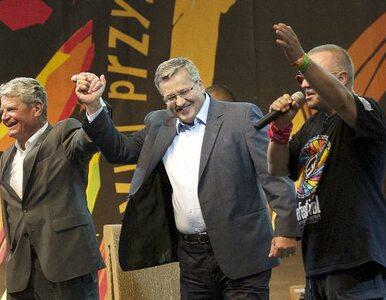 Prezydenci Polski i Niemiec na Przystanku Woodstock (galeria)
