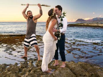 Ślubna sesja zdjęciowa z Jasonem Momoa