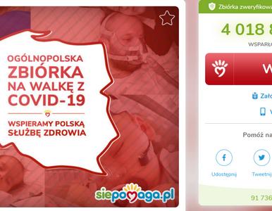 Ruszyła zbiórka na walkę z koronawirusem w Polsce. Na koncie już ponad...