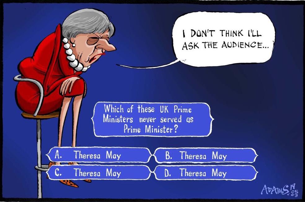 Theresa May nie jest popularna wśród wyborców
