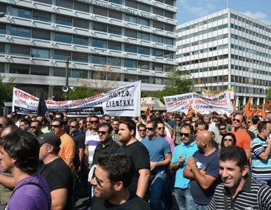 Grecy strajkują. Znowu