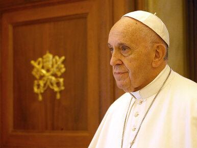 Papież Franciszek: Niektóre dzieci krzyczą na mój widok, zaczynają...