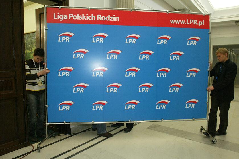 Logo Liga Polskich Rodzin