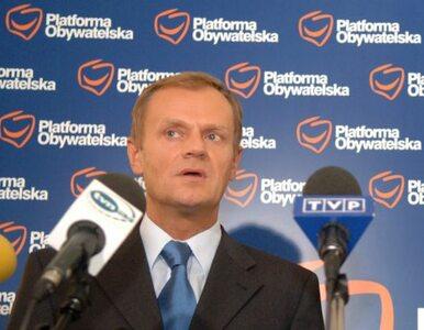 Tusk: nie zaskoczyło mnie oświadczenie Miedwiediewa