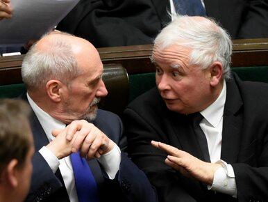 """Kaczyński o kulisach dymisji Macierewicza. """"Nie było innego wyjścia"""""""