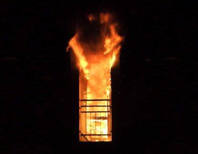 Pożar w mieszkaniu policjanta. To podpalenie?