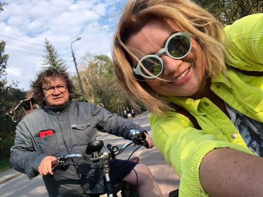 Paweł Królikowski i Małgorzata Ostrowska