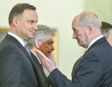 Prezydent chce od Macierewicza wyjaśnień ws. działań w SKW