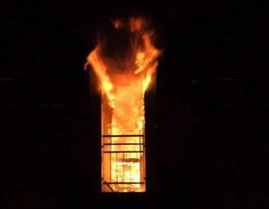 Pożar w Warszawie. Jedna osoba nie żyje