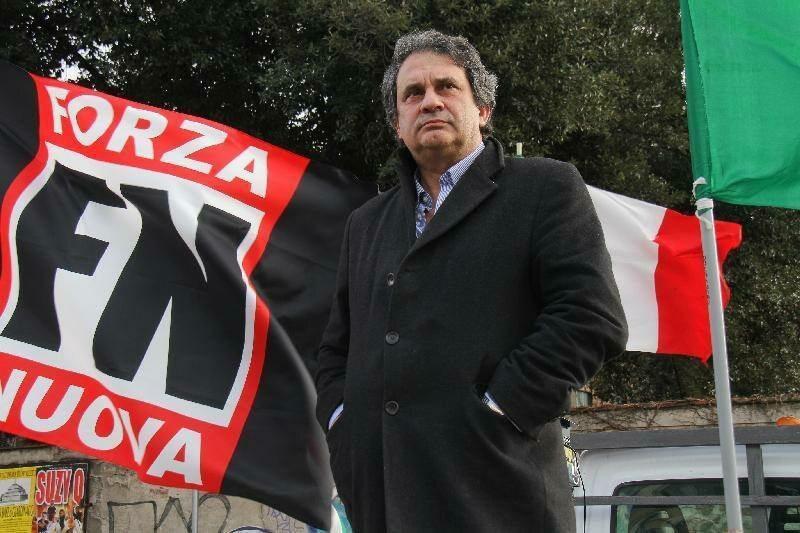 Na warszawskim Marszu Niepodległości pojawił się i przemawiał włoski faszysta Roberto Fiore