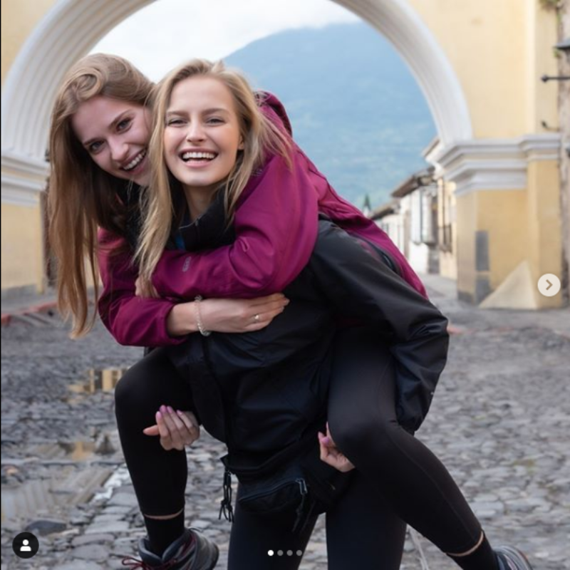 Karolina Pisarek i Marta Gajewska-Komorowska