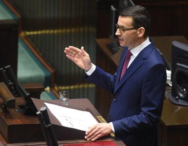 Sejm udzielił wotum zaufania rządowi premiera Mateusza Morawieckiego