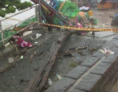 Tajfun Mario uderzył w Tajwan. Ewakuowano 3000 osób