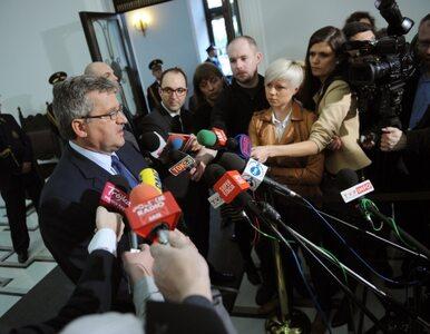 Komorowski: Sikorski mnie posłuchał - o polskiej polityce opowiada w...