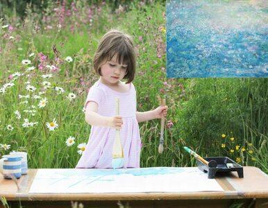 Ma 3,5 roku i maluje jak Monet