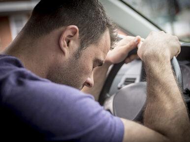 Uwaga! W upalne dni kierowca jest jakby był pijany
