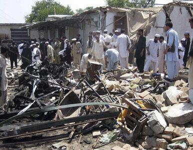 Zginęli robiąc zakupy. Krwawy zamach w Pakistanie