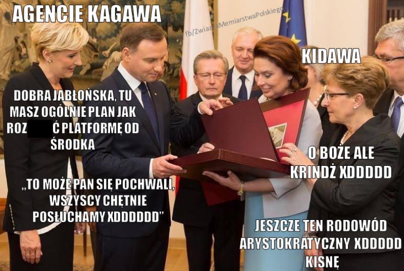 Mem po ogłoszeniu kandydatury Rafała Trzaskowskiego za Małgorzatę Kidawę-Błońską