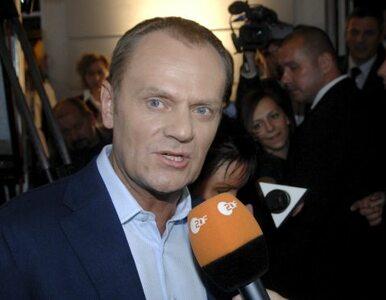 Tusk częstował premiera Słowacji żywnością eko