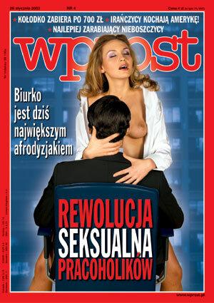 Okładka tygodnika Wprost nr 4/2003 (1052)