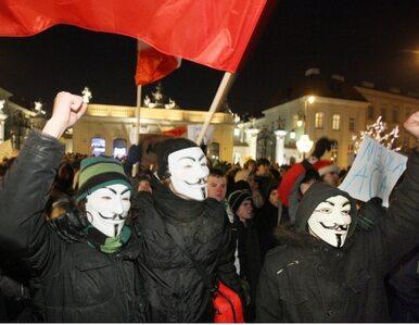 """""""Tu jest Polska nie Bruksela, tu się ACTA nie popiera"""". Demonstracja pod..."""