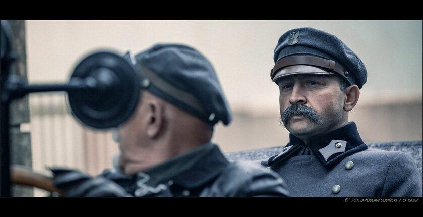"""Zdjęcia z filmu """"Piłsudski"""""""