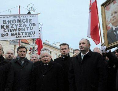 Kaczyński do zakłócających miesięcznicę smoleńską: My jesteśmy partią...