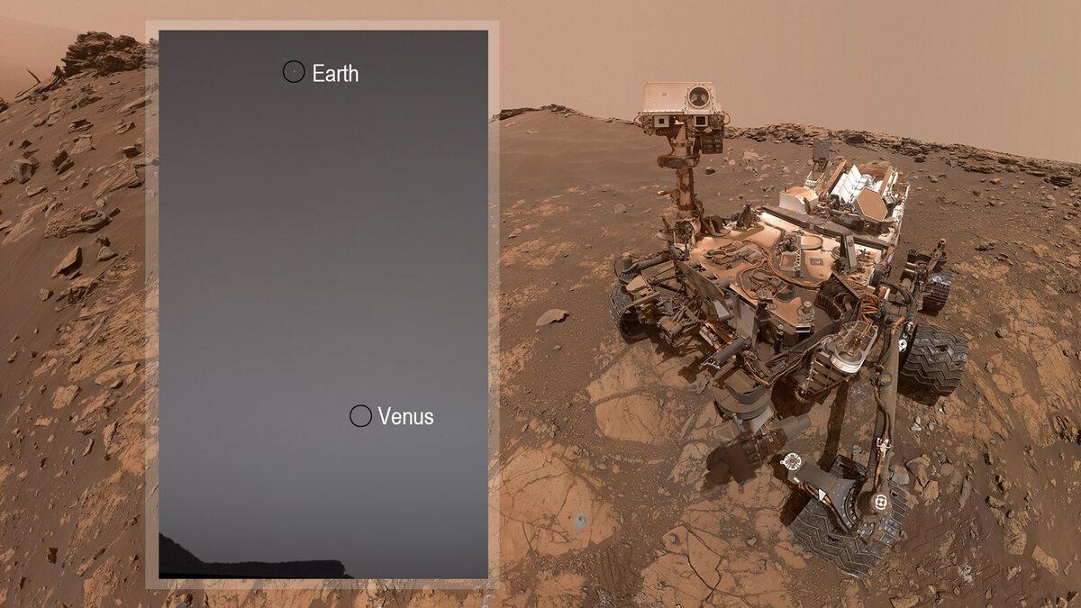 Zdjęcia Ziemi z Marsa